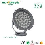 IP65를 가진 높은 Effiency 옥외 빛 5W-36W LED 투광램프는 관을 골라낸다