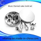 De nieuwste Vorm van de Cake van de Snijder van het Koekje van het Hulpmiddel van de Keuken van het Roestvrij staal Vastgestelde (M016)