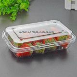Qualitäts-kundenspezifische faltbare Plastikbildschirmanzeige-verpackennahrungsmittelkasten-Einzelverkaufs-Frucht-Behälter