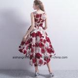 Новые короткие платья выпускного вечера официально платья вышивки платья венчания мантии вечера