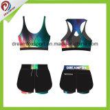 Износ йоги печатание сублимации одеяния пригодности способа изготовленный на заказ для женщин