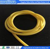 Boyau en caoutchouc coloré durable de silicones de catégorie comestible de tresse de fibre