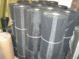 Técnica tecida e engranzamento de alumínio material preto do engranzamento de fio