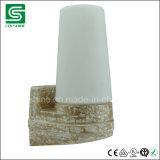 De Opgezette Sauna Linder van Colshine IP54 Muur met E14 de Basis van de Lamp voor Bad