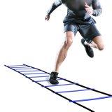 La escala al por mayor de la agilidad con el E-libro libre del utilizador + lleva el bolso - equipo de entrenamiento de la velocidad para el Footwork de intensidad alta (8 peldaños 12 peldaños 20 peldaños)