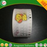 Tissu imprimé papier pour les couches de bébé