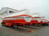 3 Wellen 4000 Liter Schmieröltank-Sattelschlepper-für Verkauf
