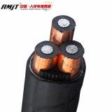 35kv Kabel van de Macht van de Kern van Alumininum de XLPE Geïsoleerden