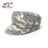 Chapéus militares do combate do tampão do soldado de Ripstop da guarda florestal do exército do chapéu do Octagon do Mens ao ar livre camuflar