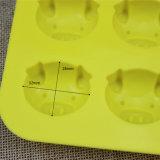 Прессформы мыла силикона клеток 3D свиньи 16 шаржа Sy03-04-016