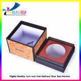 Glitter Barky carré et boîtes de papier pour les parfums et bougies