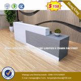강철 금속 겸손 위원회 강화 유리 수신 테이블 또는 책상 (HX-8N1796)