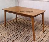 Твердая деревянная обедая мебель комнаты стола живущий (M-X2375)