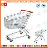 Hergestellte Supermarkt-Einkaufswagen-Laufkatze (Zht63)