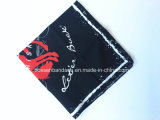 Af:drukken 56*56cm van het Ontwerp van de Douane van de Opbrengst van de Fabriek van China Rode Katoenen Bandana