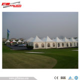 Tente multi transparente résistante de pagoda de câble de vent à vendre
