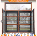 고전적인 작풍 알루미늄 여닫이 창 Windows