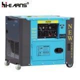 Tipo silenzioso raffreddato ad aria monofase del singolo generatore diesel del cilindro (DG5500SE)