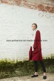 Las mujeres del invierno del OEM de lana Outwear la capa