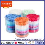 Il tampone 100% di cotone di plastica del tampone di cotone del bastone attacca il germoglio