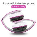 Auriculares plegables estéreos del Sobre-Oído sin hilos de Bluetooth, ruido atado con alambre de los receptores de cabeza que cancela con el micrófono incorporado para el iPhone, Samsung, LG, iPad