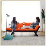لون برتقاليّ خشبيّة بناء أريكة كرسي تثبيت لأنّ فندق