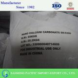 Enchimento branco do giz da natureza, carbonato de cálcio precipitado Nano