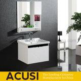 Cabina moderna de los muebles del cuarto de baño del colgante de pared de la laca de la madera contrachapada (ACS1-L52)