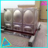 SS304 Tank van de Opslag van het Drinkwater van het roestvrij staal de Vierkante