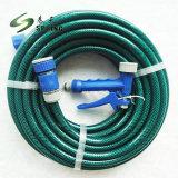 青く熱い販売の低価格のプラスチック高圧PVCガーデン・ホース