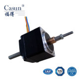 Motor de pasos del No-Cautivo linear híbrido NEMA11 (28SHD4103-01TT), alta precisión y motor de escalonamiento del No-Cautivo del funcionamiento liso para la impresora