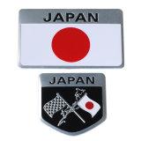 Toebehoren van de Overdrukplaatjes van de Sticker van de Auto van Japan van het Kenteken van het Embleem van de Vlag van het metaal de Japanse voor het Stileren van de Auto van Toyoto Honda Nissan Mazda Lexus Mitsubishi