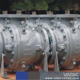 Elektrische Actuator van de hoge druk Tap Opgezette Kogelklep