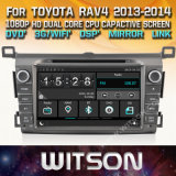Witson Windows Car Multimedia player de DVD para a Toyota RAV4 2013 2014