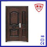 Porta de entrada exterior da Filho-Matriz do ferro de aço da segurança do estilo de Médio Oriente