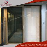 De Aluminio de gama alta resistencia a la intemperie puerta corrediza de vidrio con gran visión