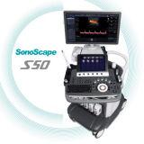 El mejor equipo de Dopper Sonoscape S50 del color de la máquina 4D del ultrasonido del precio del hospital médico