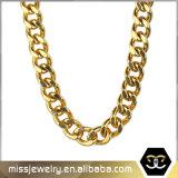 方法宝石類の人のための銀によってめっきされるシンプルな設計の鎖のネックレス