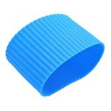 Estera determinada de la taza de la funda de la taza de /Protective de silicón del arreglo para requisitos particulares de la taza colorida del caucho