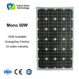 Цена по прейскуранту завода-изготовителя панели оптового модуля 50W PV солнечного поли