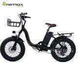 26*4.0 [كندا] نوع مؤخّرة [750و] [مإكس] يطوي درّاجة كهربائيّة