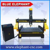 Puerta de madera del mejor precio de Ele1212 China que hace la máquina con la cortadora del CNC de fábrica