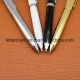 Bolígrafo Metal única recarga de tinta aceitosa con logo impreso (LT-E87)