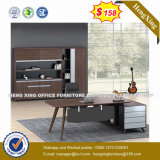 Mahogany Color Office Furniture Melamine Wood Office Desk (NT-3277)