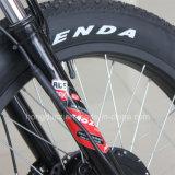 triciclo elettrico del carico della gomma grassa di 48V 500W con il pedale