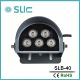 DC24V 10 W paisaje exterior IP65 Lámpara LED de luz de pared