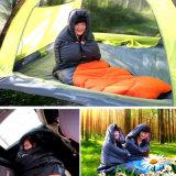冬の大人のための暖かい屋内正方形のエンベロプの寝袋