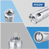 6SP60 de aço inoxidável do Melhor preço da bomba eléctrica de água submersível para 4 polegadas de profundidade bem/furo