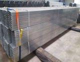2018 высокое качество материала Pre-Galvanized 50x100мм стальных Gi скрытых полостей трубопровода