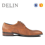 Schoenen de Van uitstekende kwaliteit van Delin voor Toevallige het Leer van de Koe van Mensen